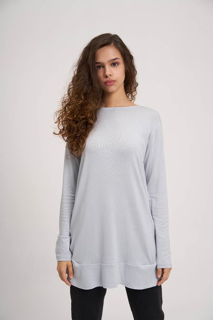MIZALLE YOUTH - Flywheel Tunic (Light Blue) (1)