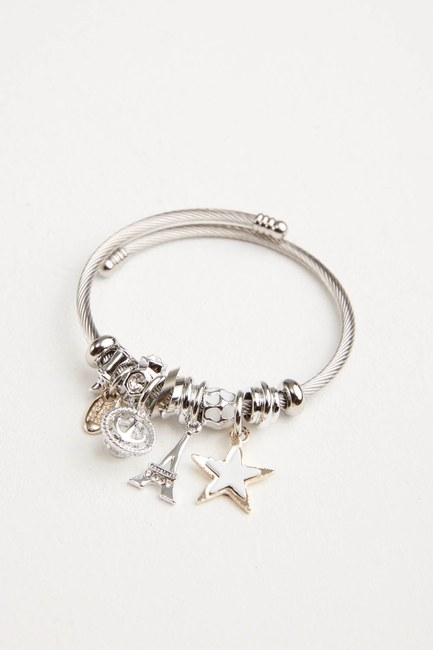 MIZALLE - Eiffel Tower Bracelet (White) (1)