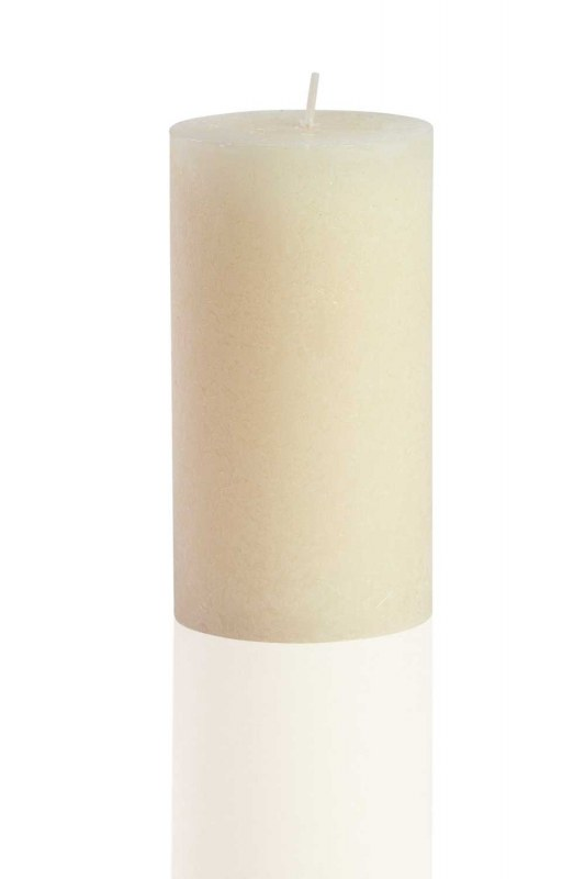 Cylinder Form Ivory Rustic (13X6,8)