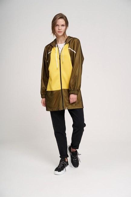 MIZALLE YOUTH - File Detaylı Sweatshirt (Sarı) (1)