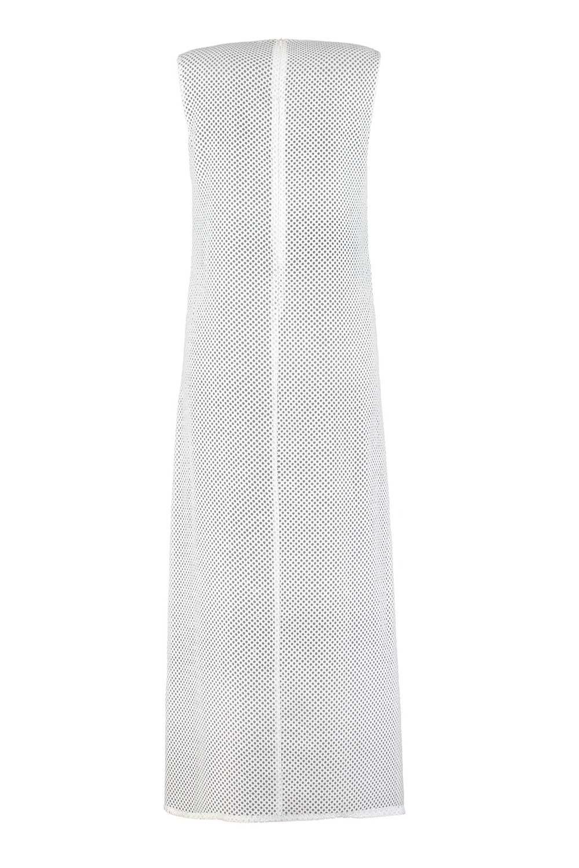 File Kolsuz Beyaz Elbise