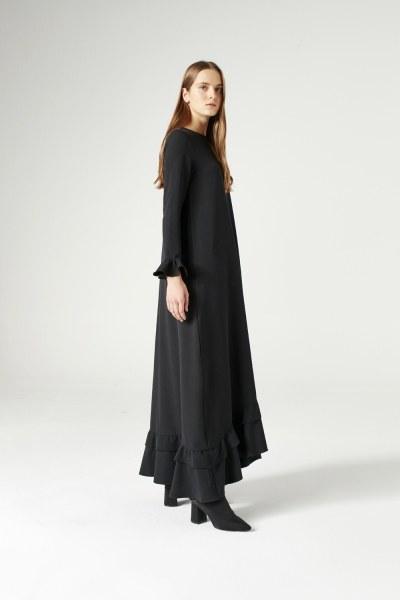 فستان بكرانيش (أسود) - Thumbnail