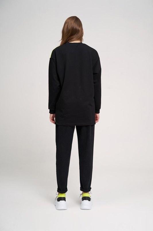 Focus Sweatshirt (Siyah)