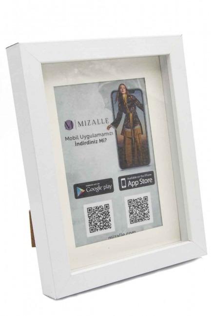 Mizalle - Fotoğraf Çerçevesi (Beyaz)