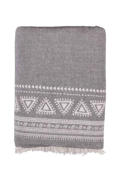 غطاء مقعد رمادي (130 × 170) - Thumbnail