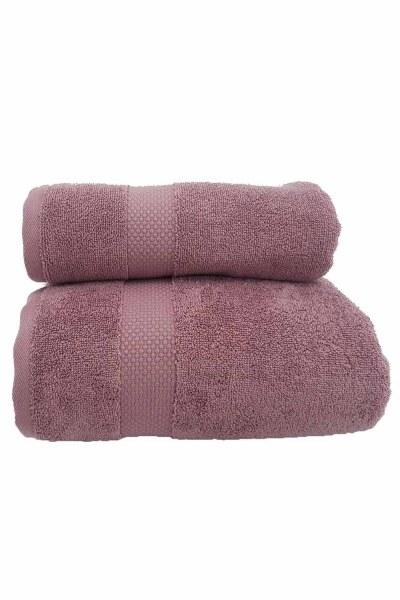 Cotton Towel (50X90) (Rose) - Thumbnail