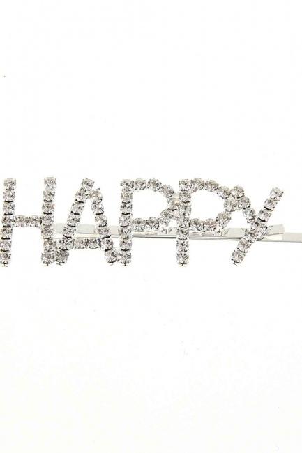MIZALLE - مشبك مع الحجر'السعيدة' (1)