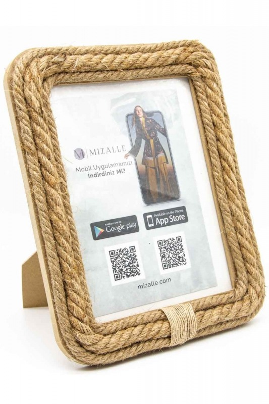 Wicker Large Photo Frame (St)