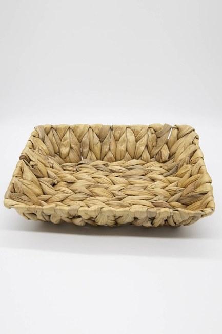 MIZALLE HOME - Wicker Bread Basket (Mink) (1)