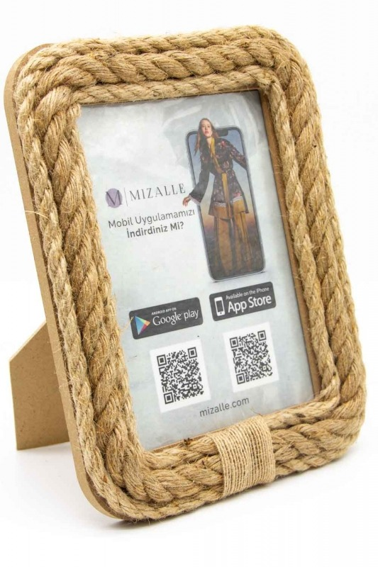 Wicker Small Photo Frame (St)