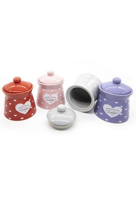 MIZALLE HOME - Heart Jar Kit (Quadruple) (1)
