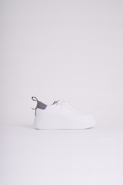MIZALLE - High Sole Sneakers (White) (1)