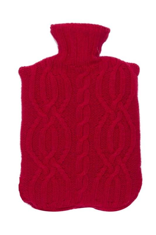 حقيبة كيس الماء الساخن (الأحمر)