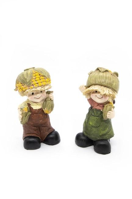 MIZALLE HOME - Dual Cute Decorative Trinket (Brown) (1)