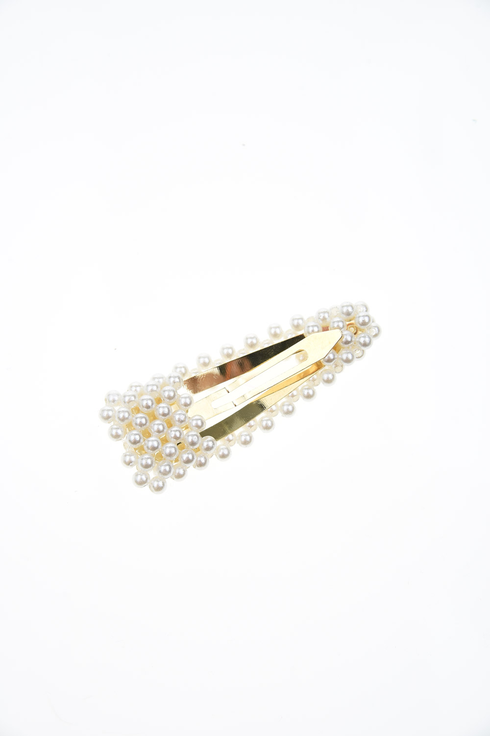 MIZALLE Pearls Snap Buttons Hair Clips (St) (1)