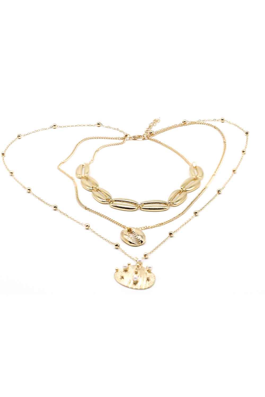 MIZALLE Oyster Necklace (St) (1)