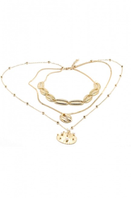 MIZALLE - Oyster Necklace (St) (1)