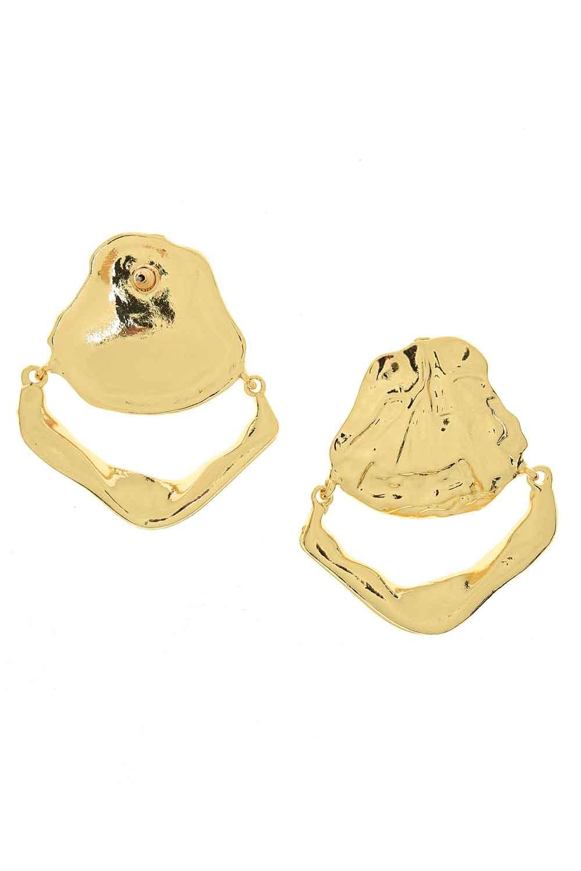 MIZALLE Oyster Earring (Big) (St) (1)