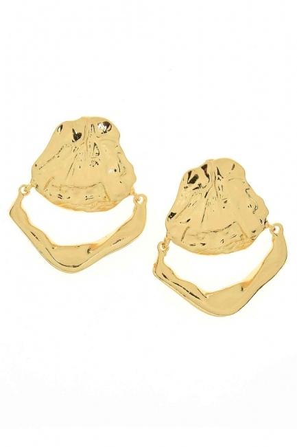 MIZALLE - Oyster Earring (Big) (St) (1)
