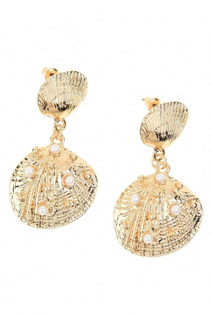 MIZALLE - Oyster Earrings (St) (1)