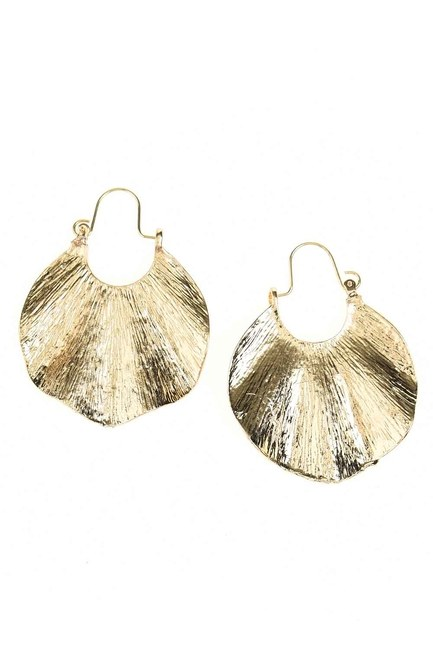 MIZALLE - Oyster Ring Earrings (St) (1)