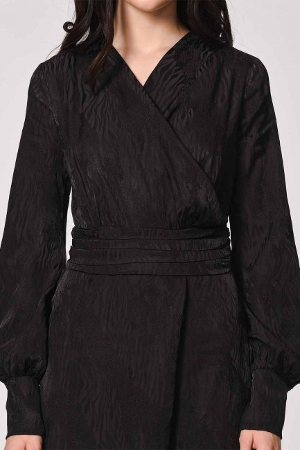 MIZALLE - افرول جاكار للمساء (أسود) (1)