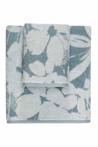 MIZALLE HOME منشفة جاكار (50X90) (النعناع)