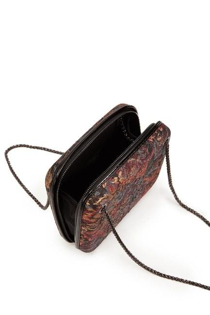 حقيبة جاكار منقوشة (أسود) - Thumbnail