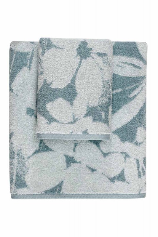 Jacquard Towel (50X90) (Mint)
