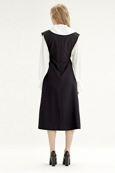 فستان جيليه (أسود) - Thumbnail