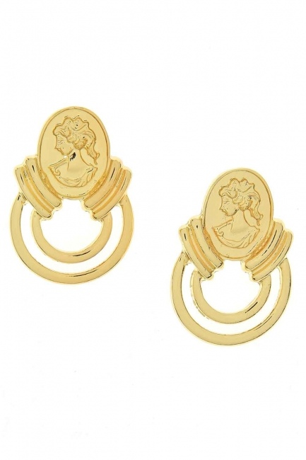 MIZALLE - Women's Figured Earrings (St) (1)
