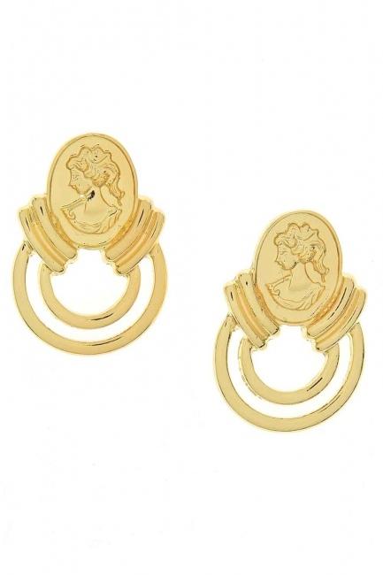 MIZALLE - Women's Figured Earrings (St) (1)