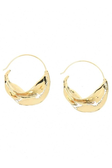 MIZALLE - Thick Ring Earrings (St) (1)