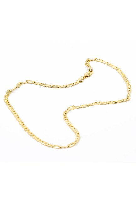 MIZALLE - Thick Chain Necklace (Yellow) (1)