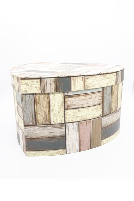 MIZALLE HOME - Cream Heart Box (22X21) (1)