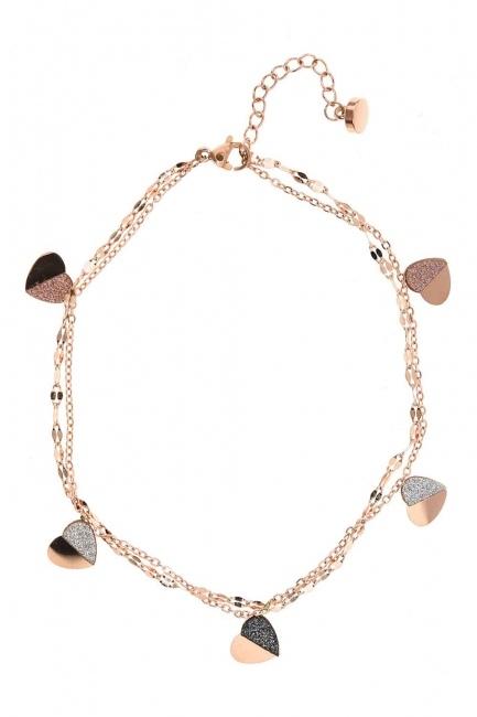 Heart Steel Bracelet (St) - Thumbnail