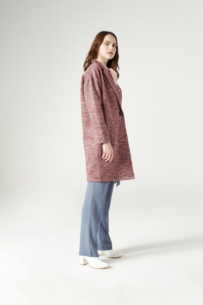 Cape Jacket (Claret Red) - Thumbnail