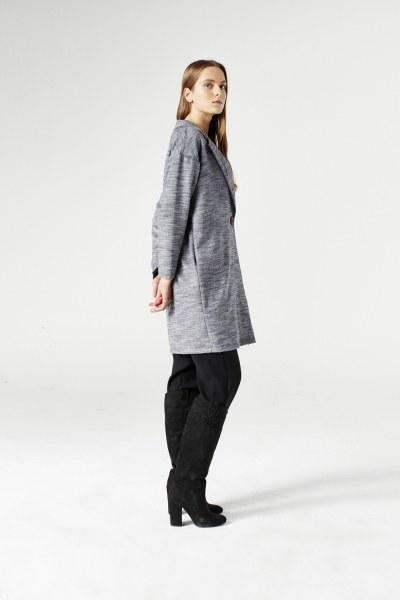 MIZALLE - كاب (أسود) (1)