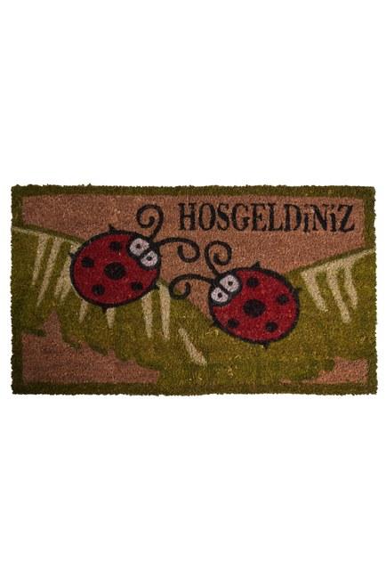 MIZALLE HOME - Kapı Önü Paspası (Uğur Böceği) (1)