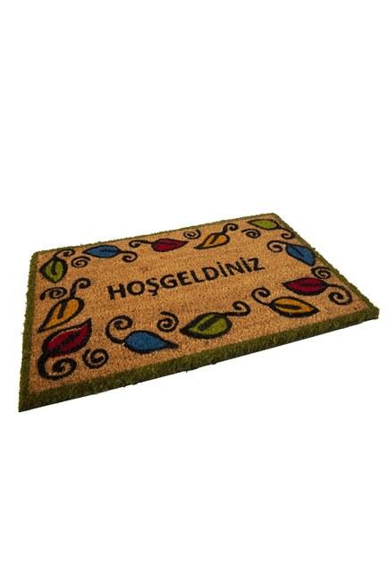 MIZALLE HOME - Kapı Önü Paspası (Yaprak) (1)