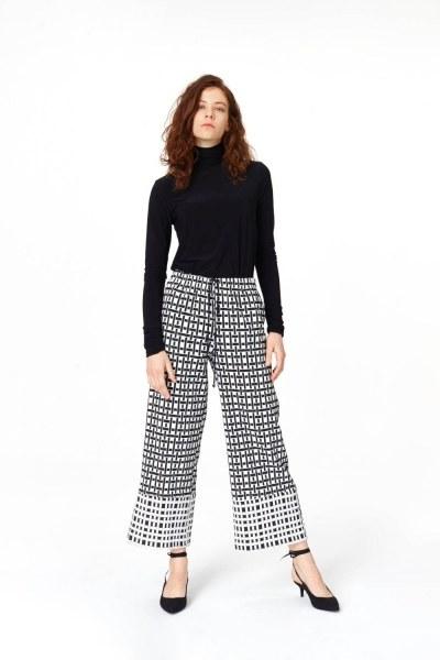 Jacquard Trousers - Thumbnail