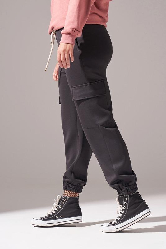 Kargo Cepli Scuba Pantolon (Siyah)