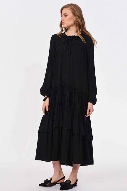 Long Dress (Black) - Thumbnail