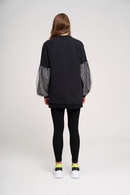 Kazayağı Sweatshirt (Beyaz) - Thumbnail
