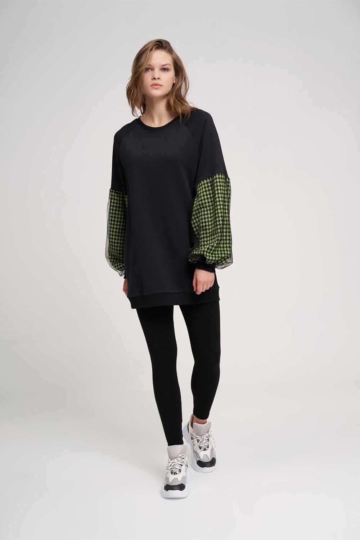 Kazayağı Sweatshirt (Yeşil)