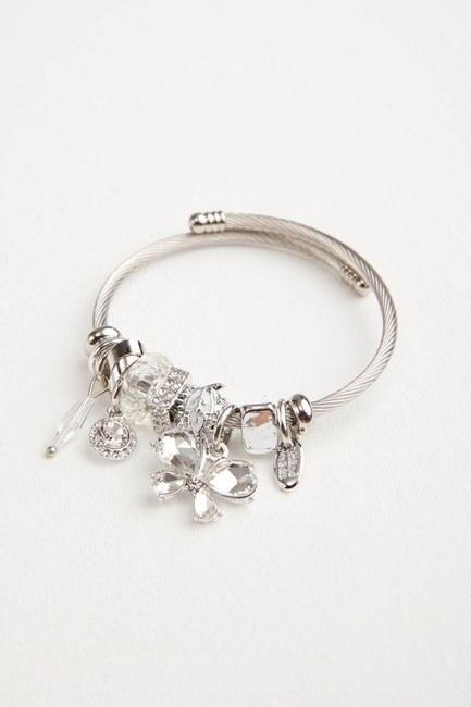 MIZALLE - Butterfly Bracelet (White) (1)
