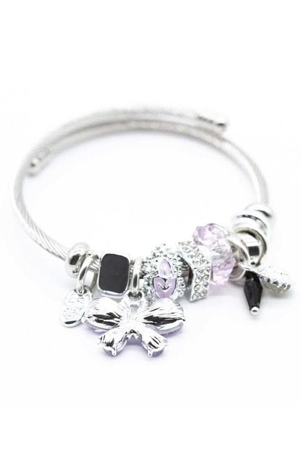 MIZALLE Butterfly Bracelet (Lilac)