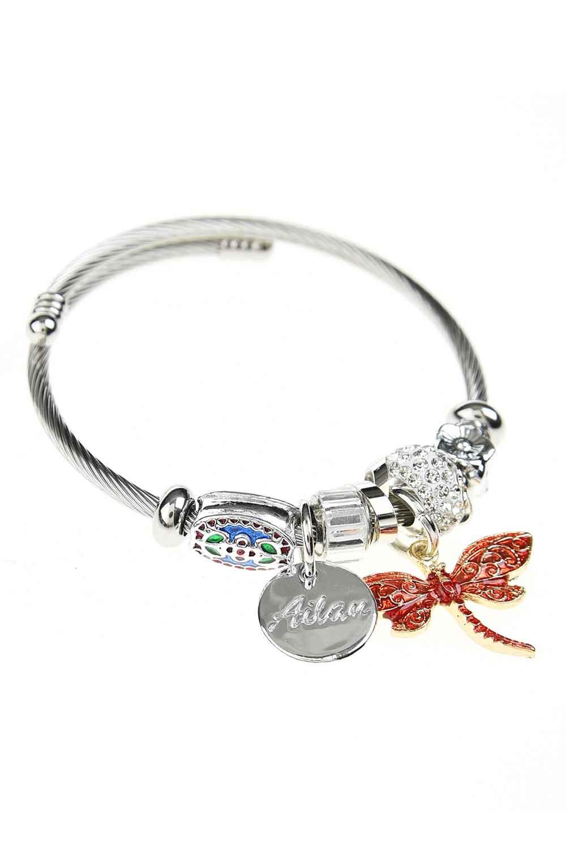 MIZALLE Butterfly Bracelet (Red) (1)