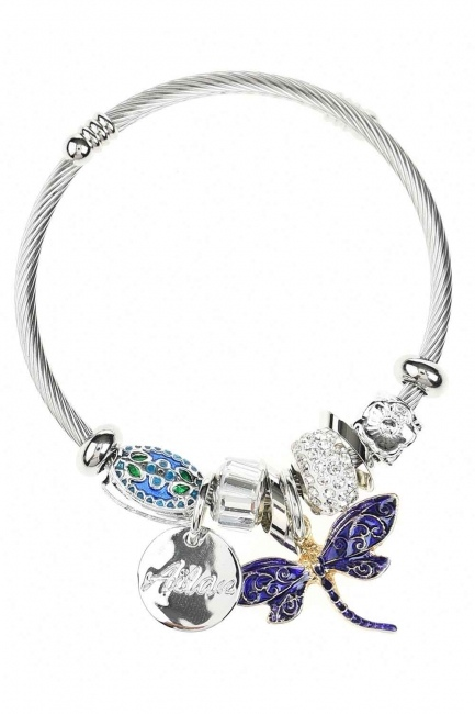 MIZALLE Butterfly Bracelet (Purple)