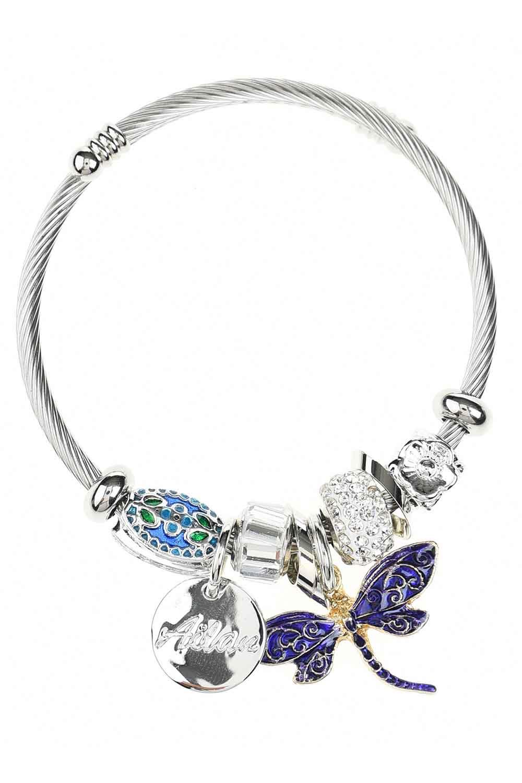 MIZALLE Butterfly Bracelet (Purple) (1)